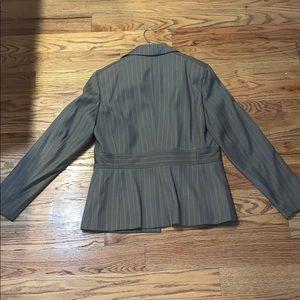 Signature by Larry Levine Jackets & Coats - Signature by Larry Levine Gray Pink Suit 6
